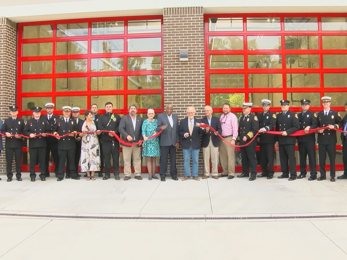New shared fire station opens in the Lowcountry