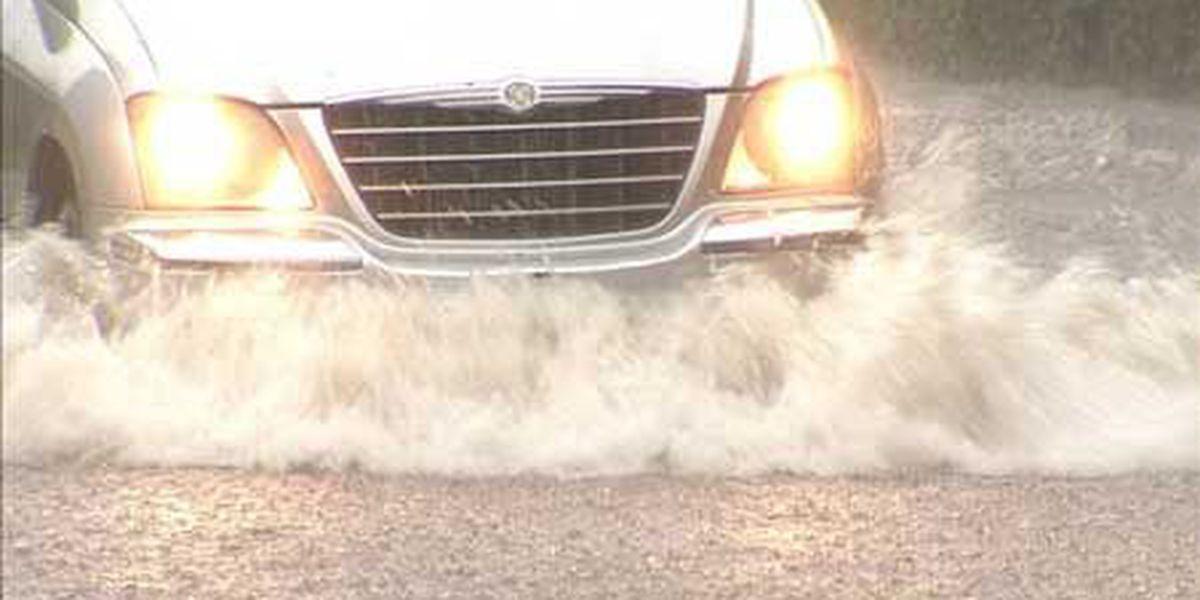 Rains cause flash flooding across South Carolina