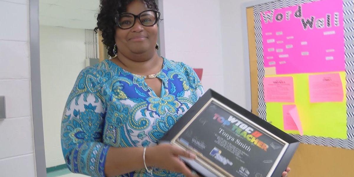 Top Teacher: Tonya Smith from Hubert Middle