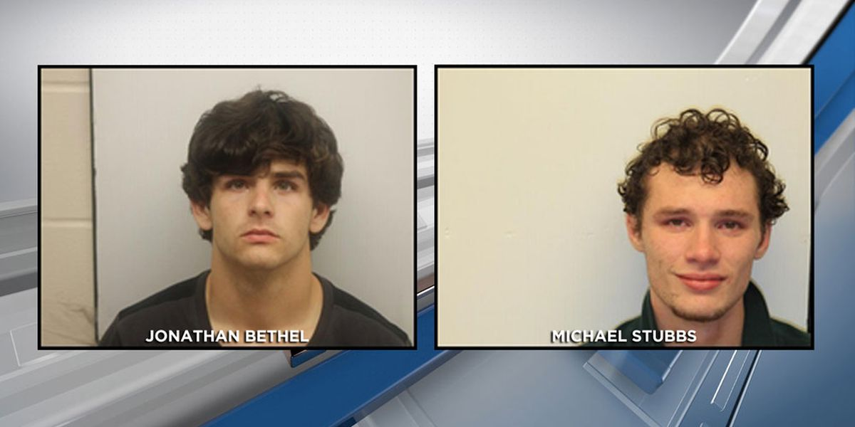 CCPD: Two suspects into custody after early morning crime spree