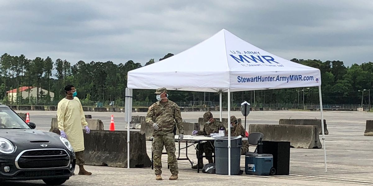 Hunter Army Airfield opens COVID-19 screening site