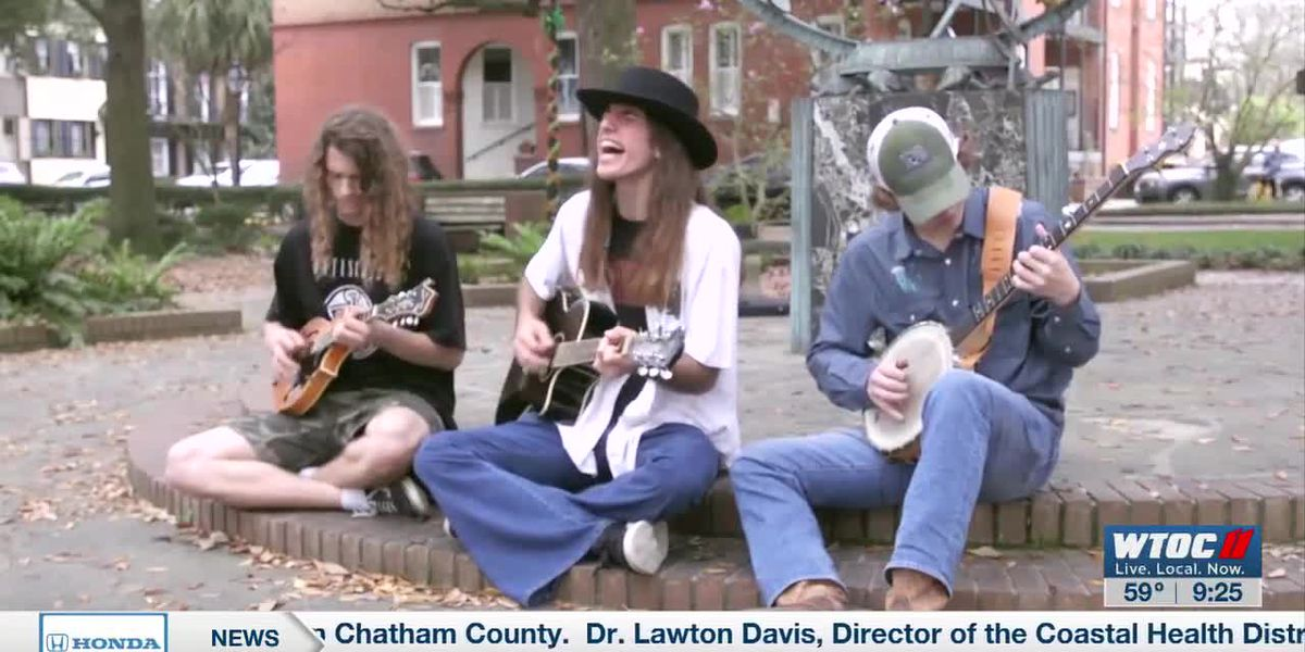 Savannah Square Sessions: Little Gracie performs 'When She Don't Want Me No More' in Troup Square