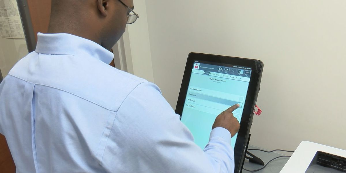 Chatham Co. gets first look at new voting machines