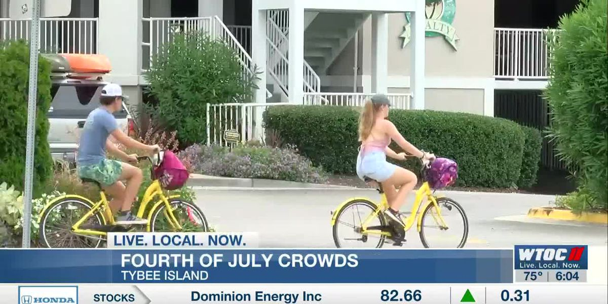Tybee Island expecting big crowds over the Independence Day weekend