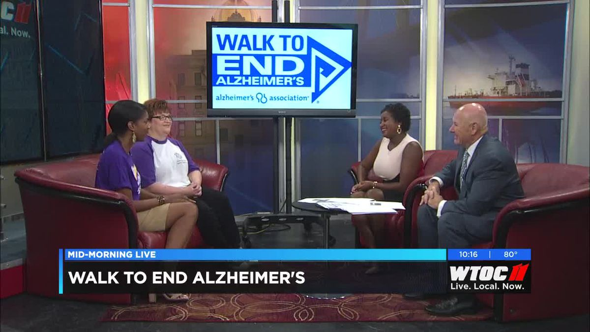 Walk to End Alzheimer's this Saturday at Ellis Square