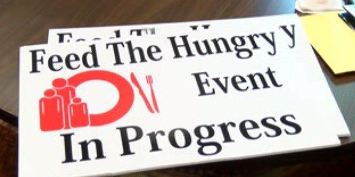 Feed the Hungry Thanksgiving dinner schedule