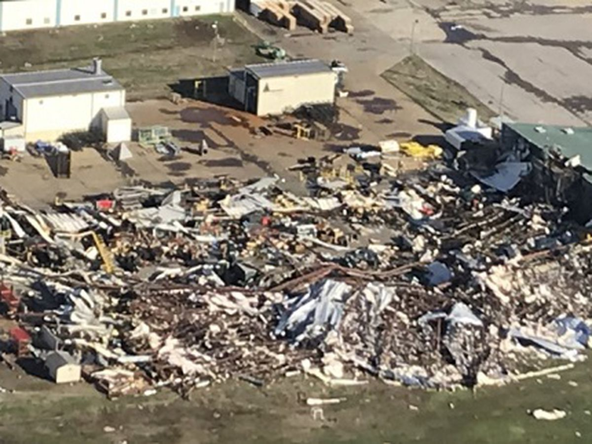 NWS confirms EF-3 tornado hit Jonesboro, Ark; 22 injured