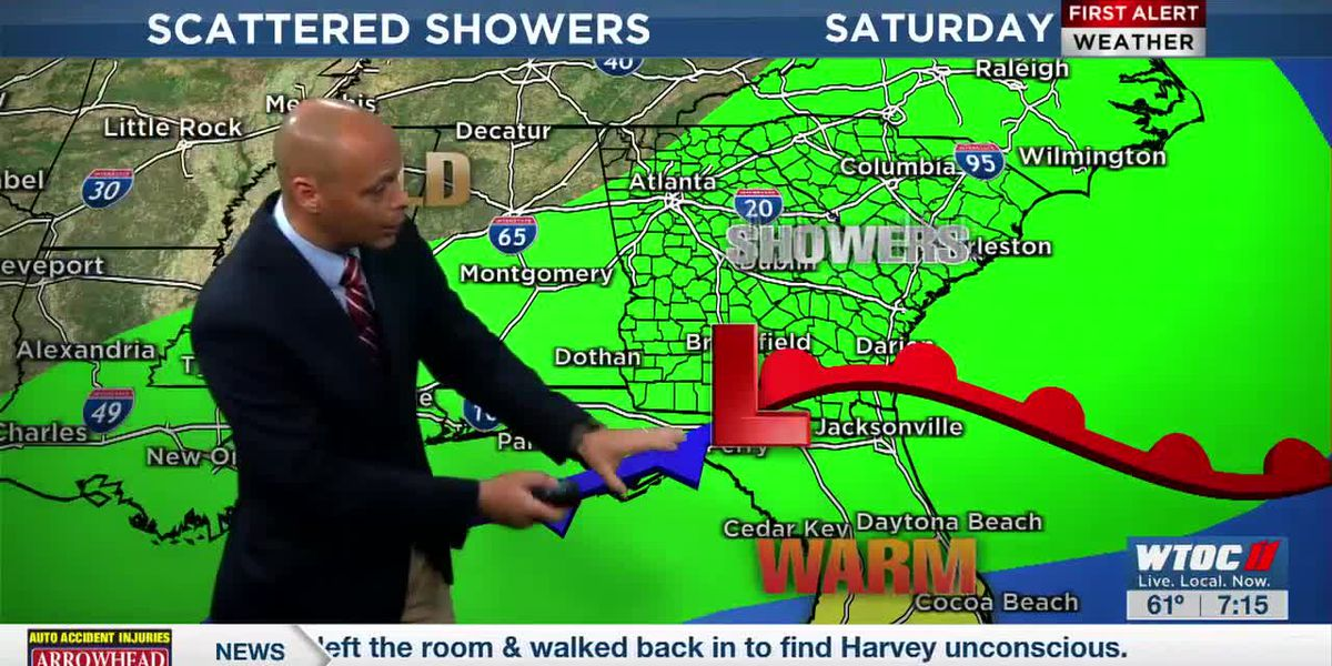 Dave's 7pm Forecast