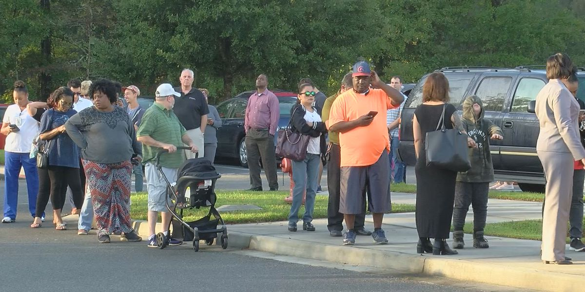 Chatham Co. polling places see long lines, possible voting issues