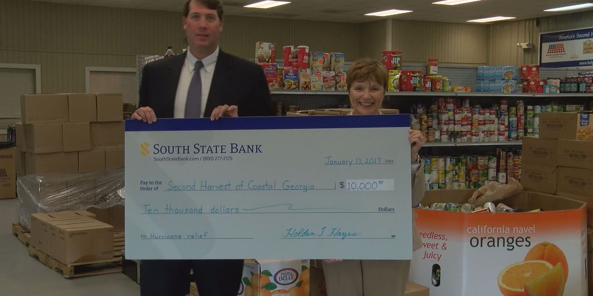 South State Bank donates $10,000 to America's Second Harvest of Coastal Georgia