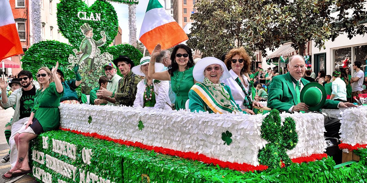 The history of the St. Patrick's Day parade, when it started