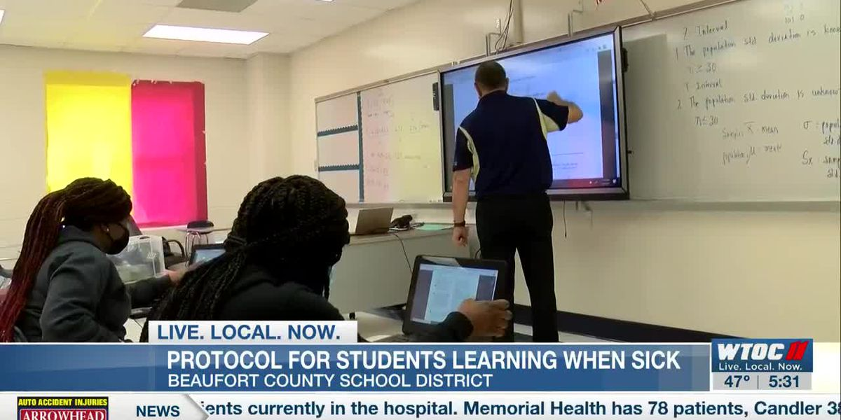 Beaufort Co. School District discusses protocol for students learning when sick