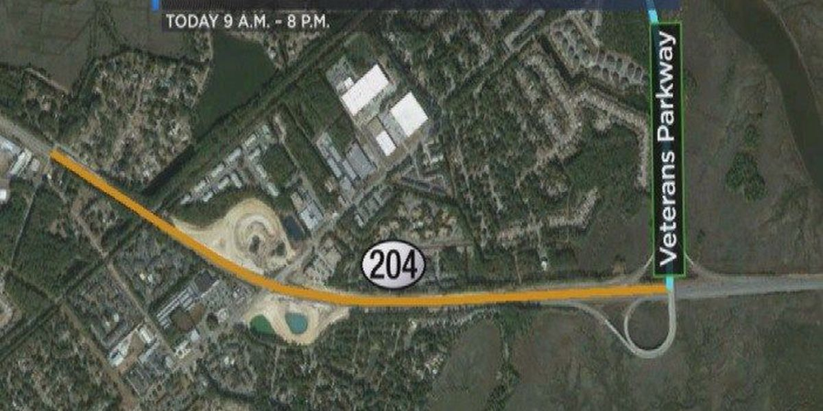 GDOT widening project closes portions of S.R. 204/ Abercorn St