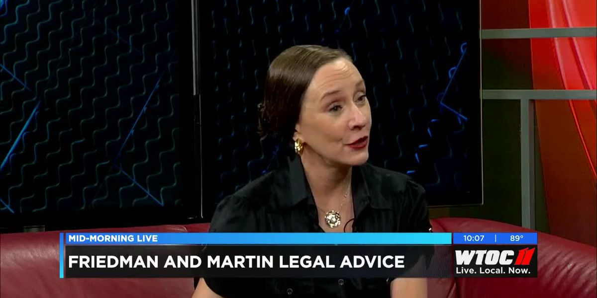 Friedman and Martin Legal Advice Question One