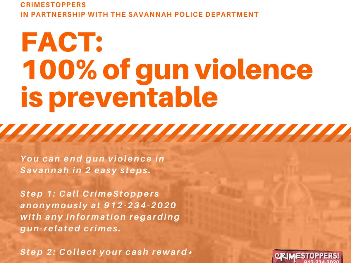 New campaign targeting gun violence in Savannah