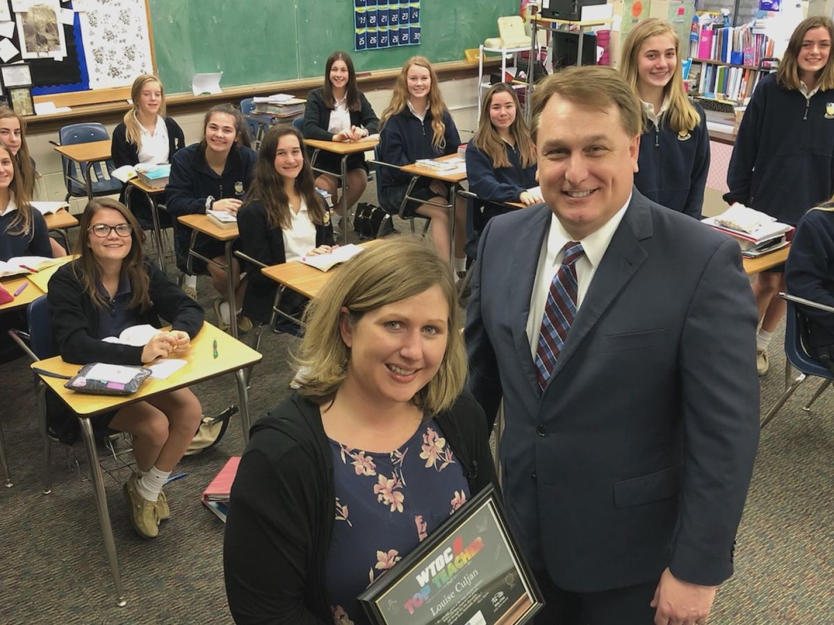 Top Teacher: Taylor Culjan