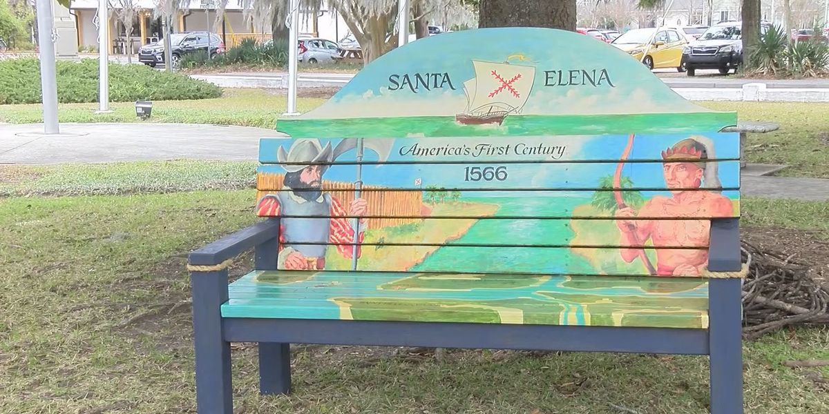 New benches showcase town history in Beaufort