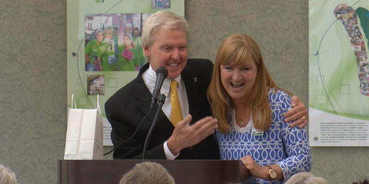 St. Joseph's/Candler awards employee with 2019 McAuley Award