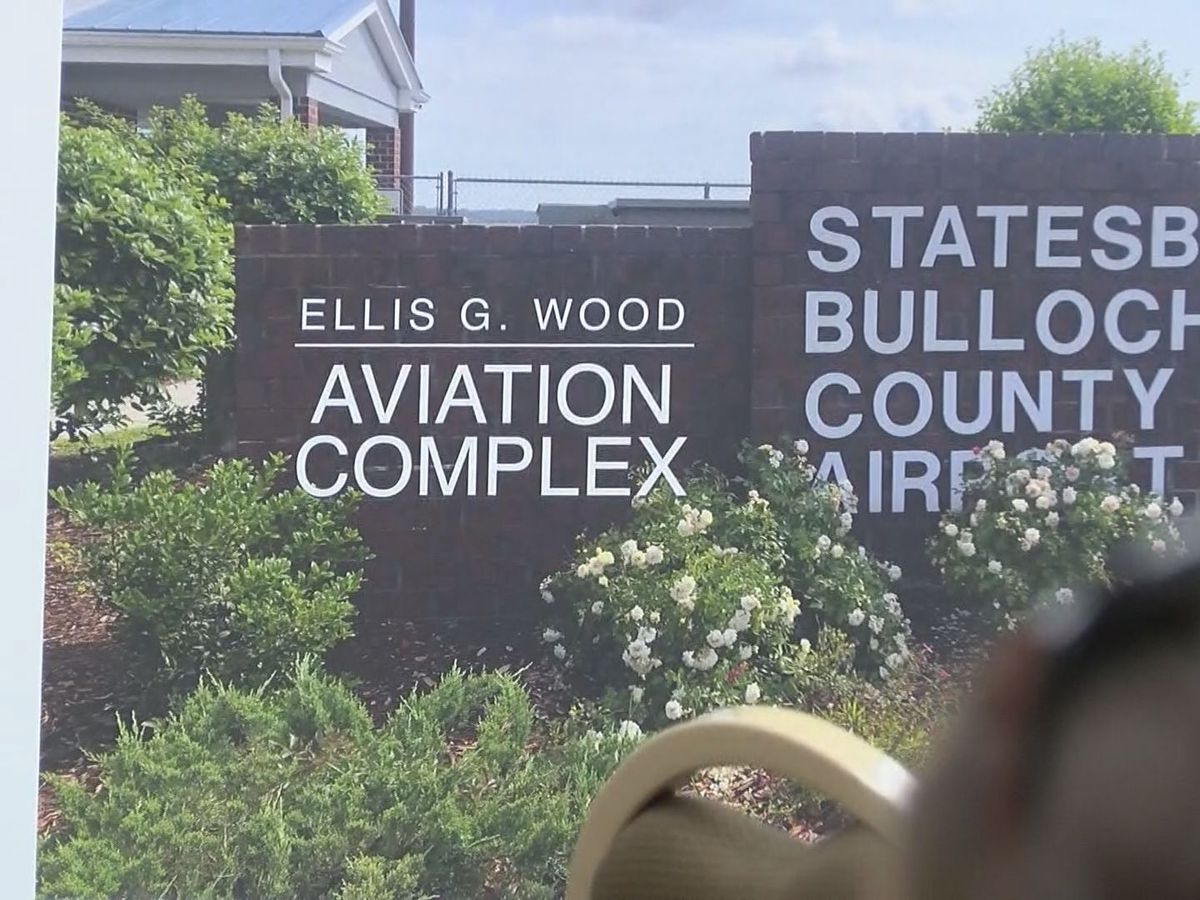 Bulloch County airport terminal renamed for community volunteer