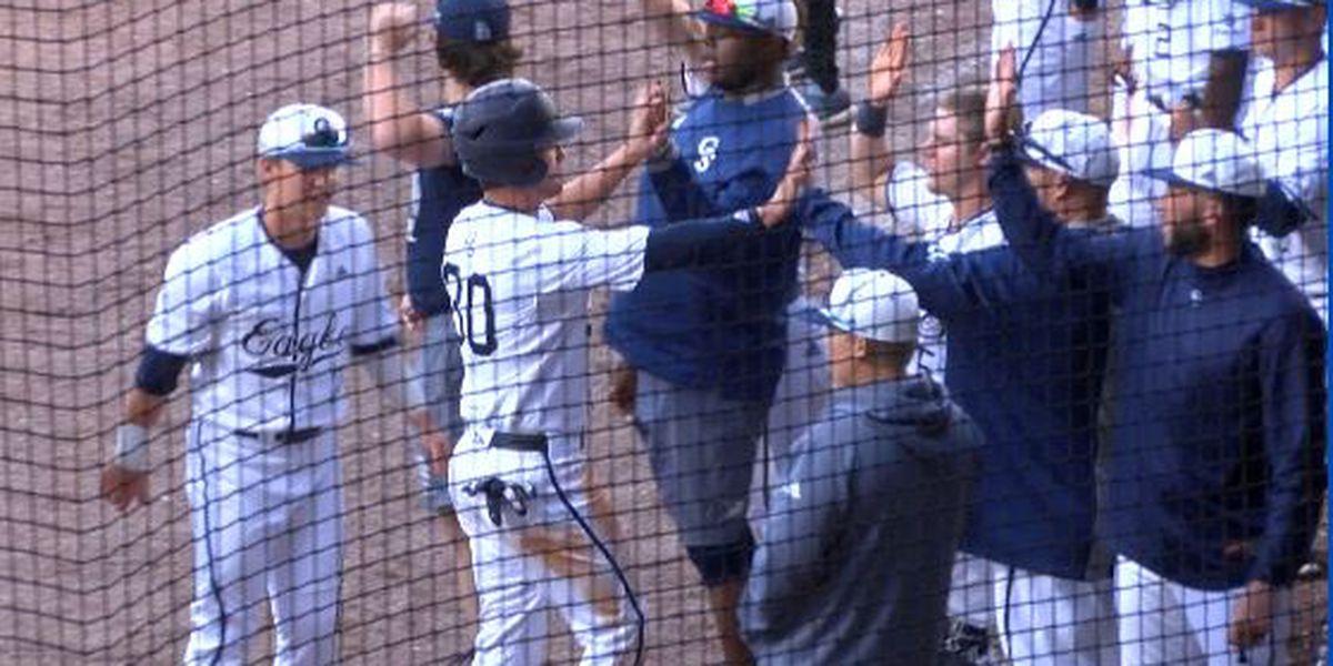 Eagle baseball downs Charleston in Savannah