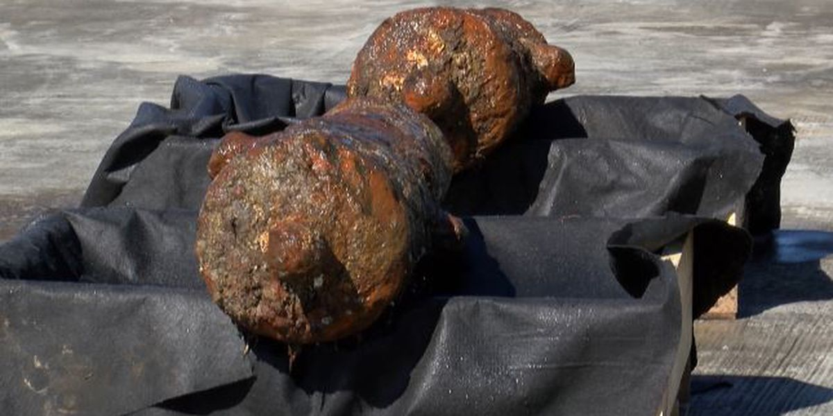 Dredging up the past: A closer look at artifacts found in Savannah River