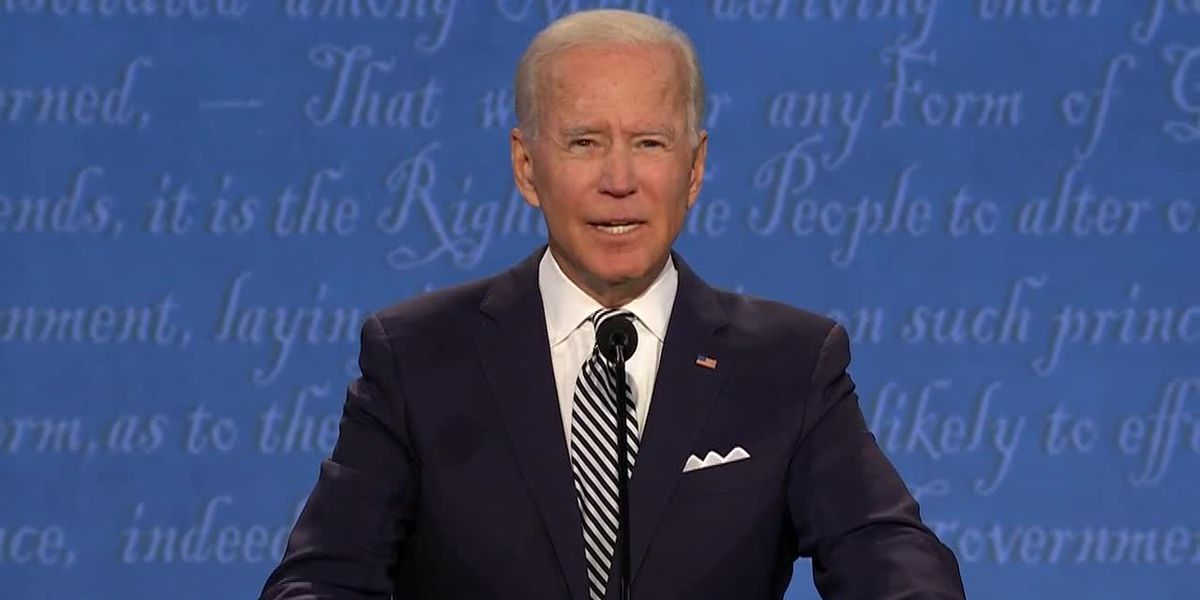 Biden, Trump debate on COVID-19