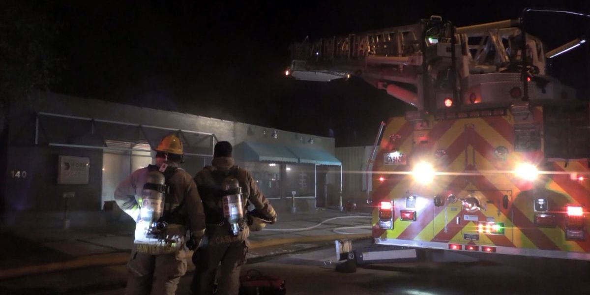 Fire damages Hinesville Department of Labor building