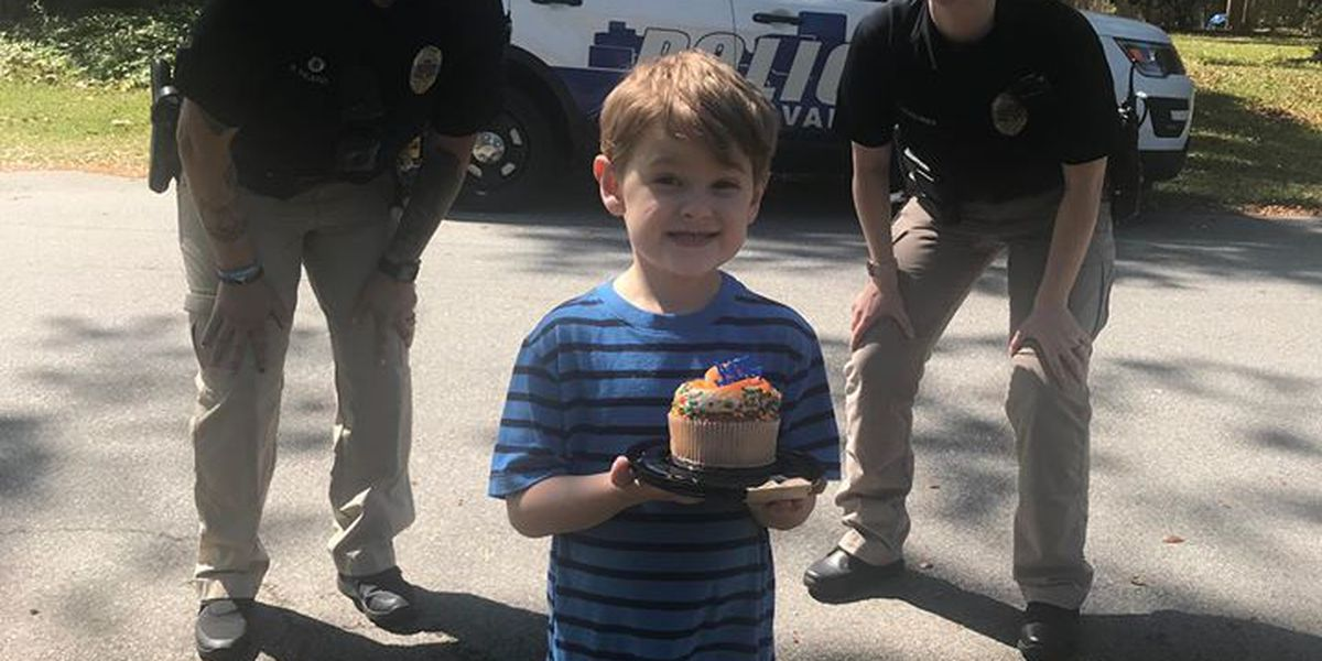 SPD celebrates with 5-year-old forced to cancel birthday party due to COVID-19