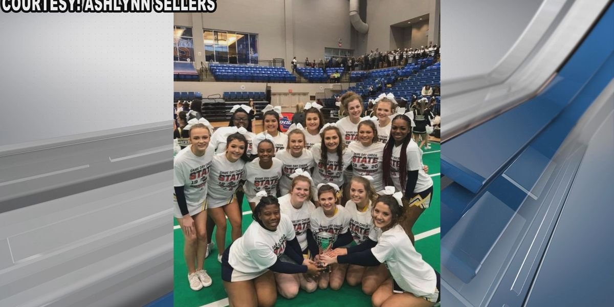 Jeff Davis cheerleaders win title