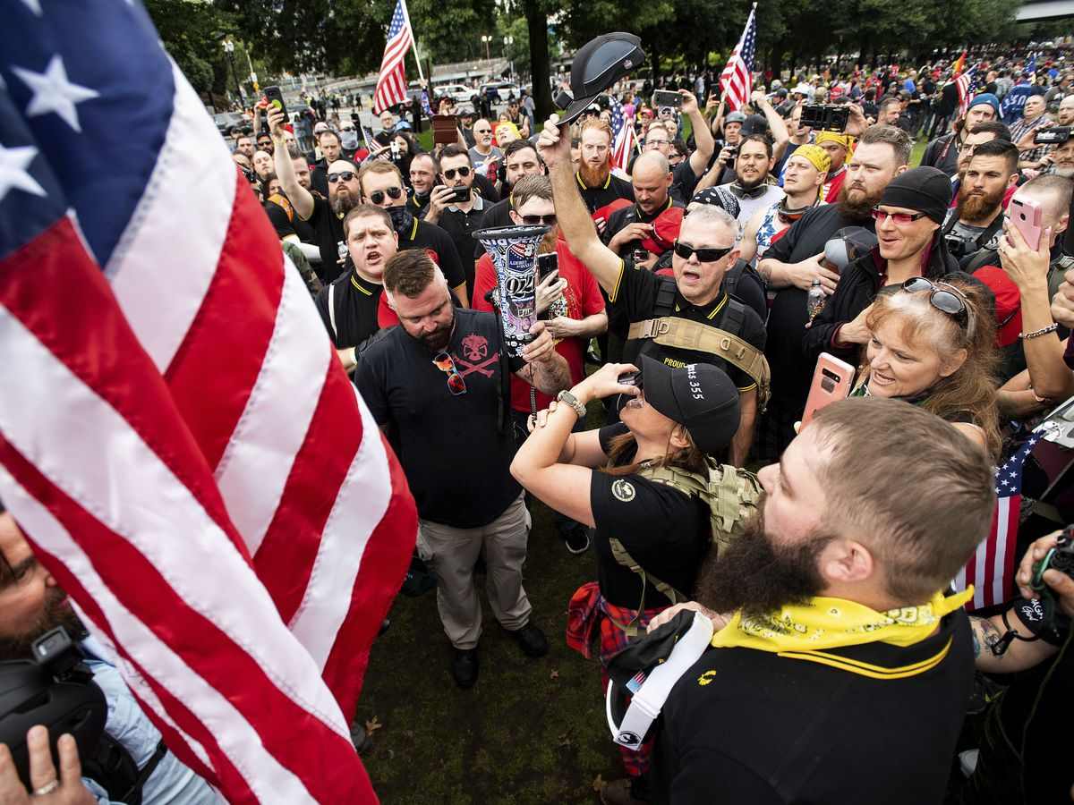 Portland, Oregon, braces itself for large right-wing rally