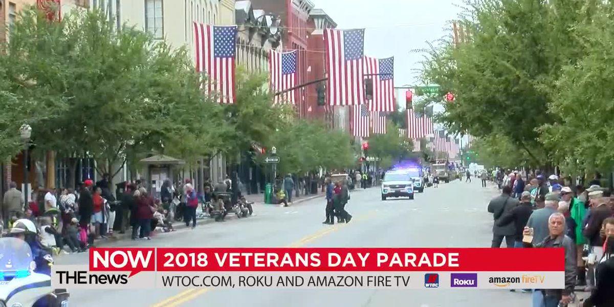 REPLAY: The 2018 Veterans Day Parade in Savannah
