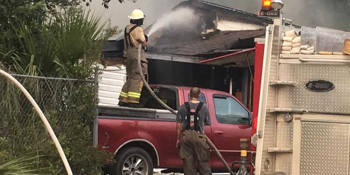 Family displaced after house fire in Jesup