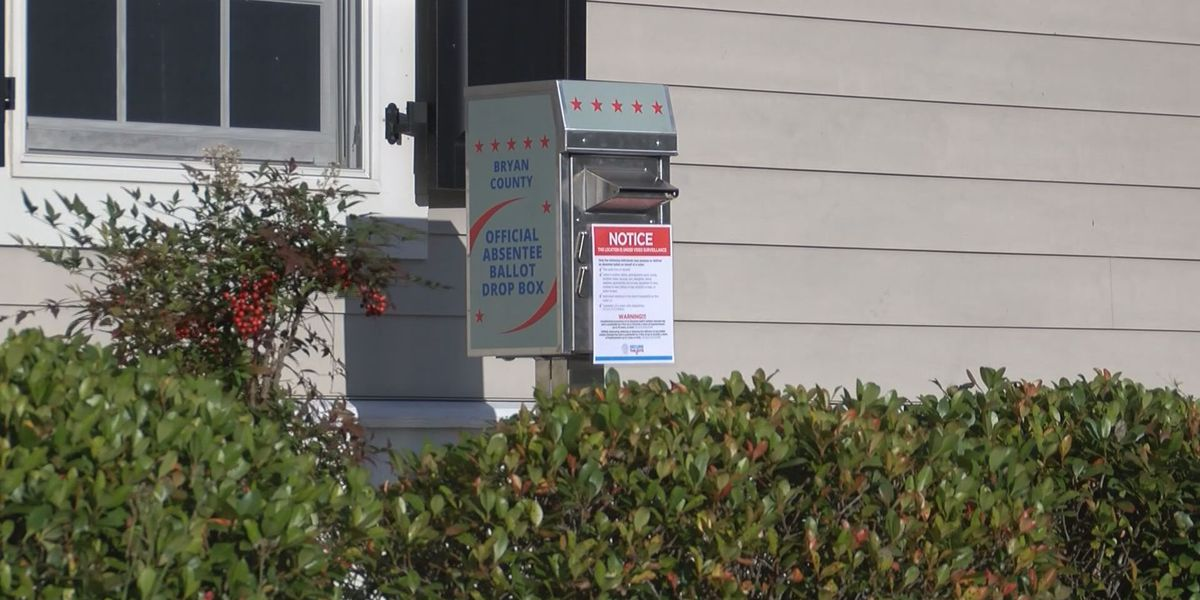 Two drop-off boxes in Bryan Co. for absentee ballots