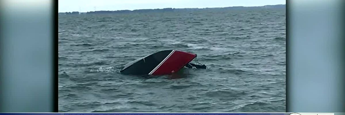 Man clings to capsized boat for 12 hours in Lake Erie