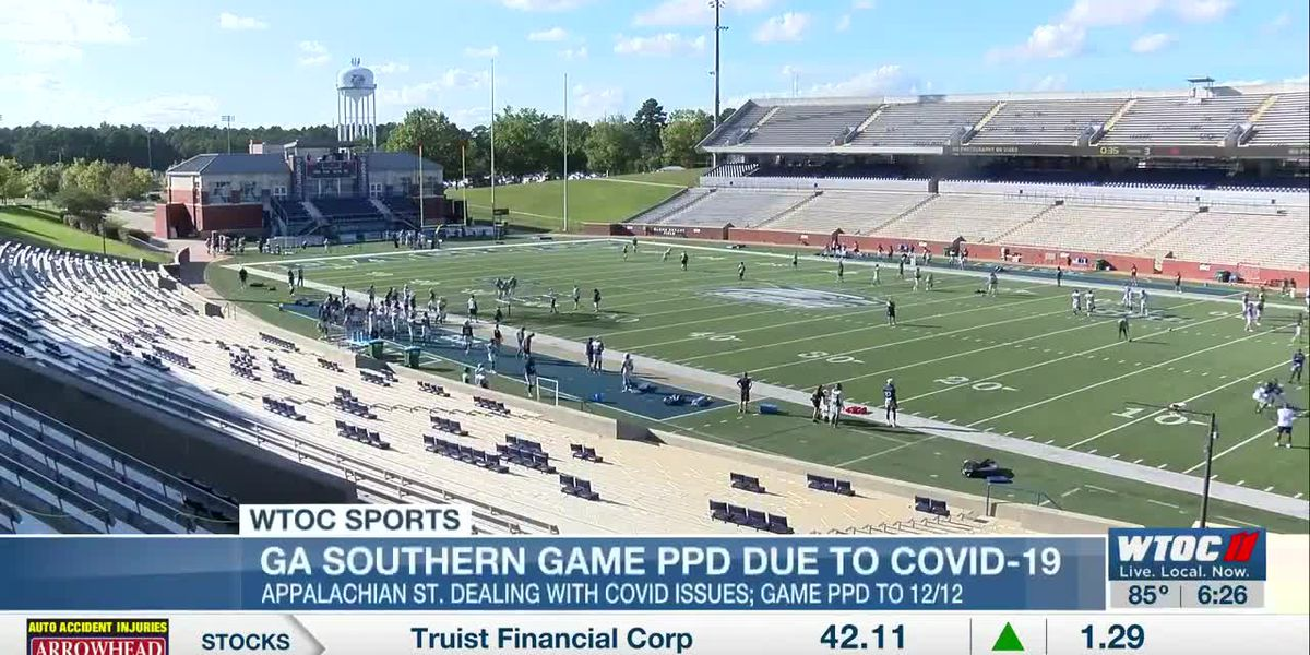 Georgia Southern football game versus App State rescheduled for December