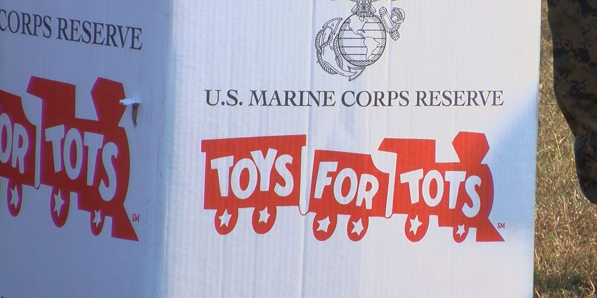 WTOC's annual Toys for Tots toy drive now ends Tuesday