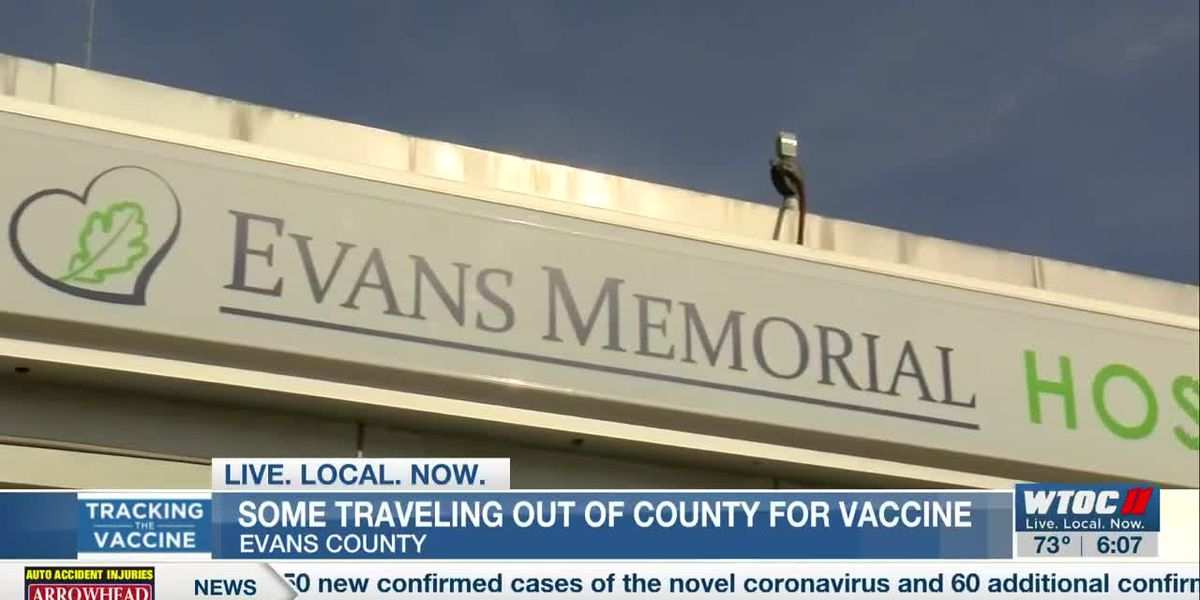 People traveling to Evans Co. for COVID-19 vaccine