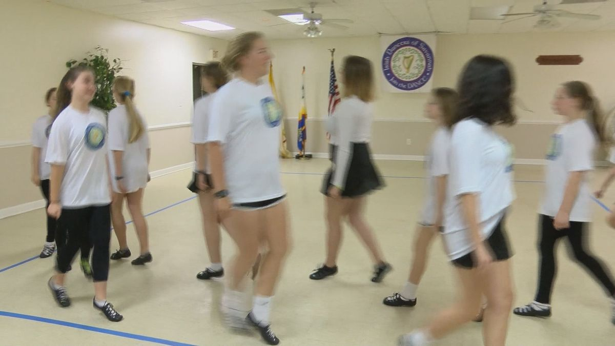 Irish dancers bring their heritage annually to Savannah's St. Patrick's Day parade