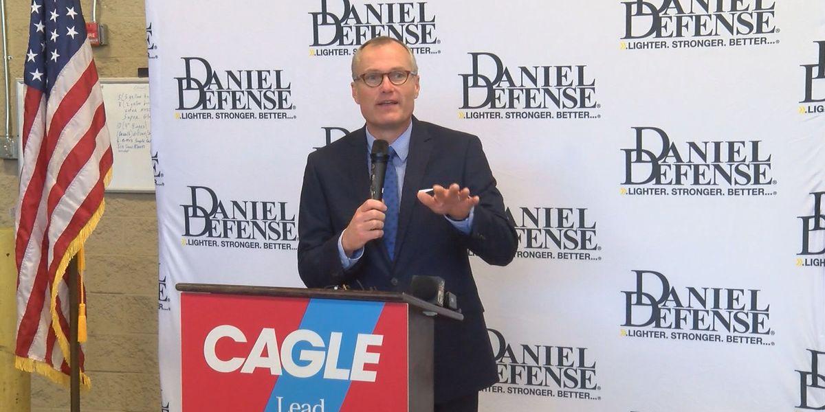 Georgia Lt. Gov. Cagle tours Daniel Defense
