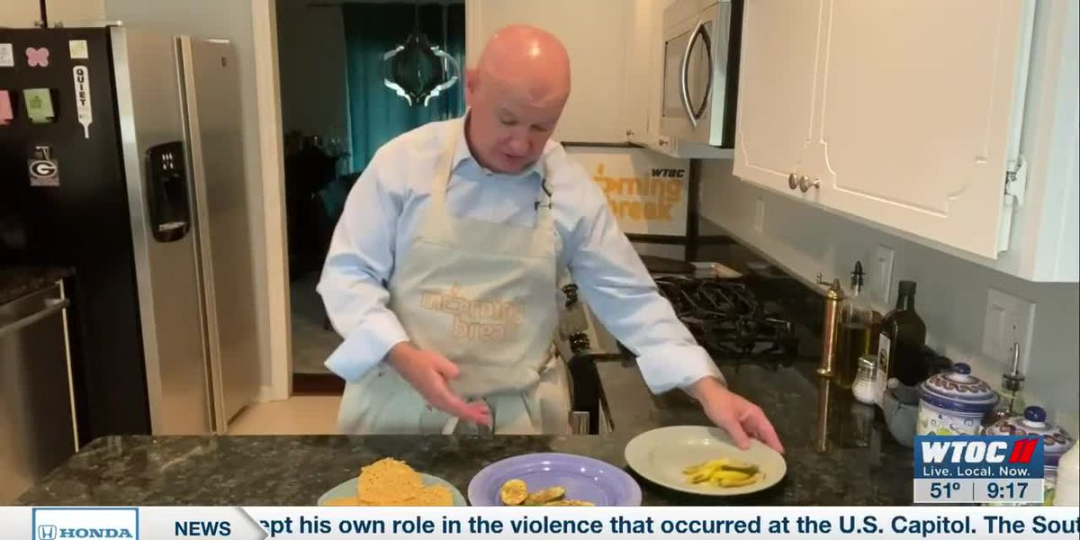 Tim shows us some healthier side dish options
