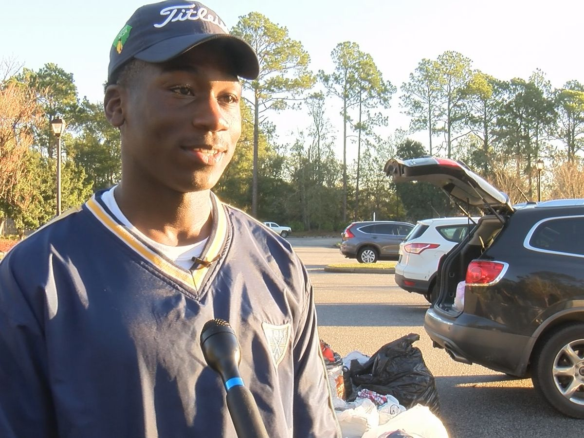 Fort Stewart soldier helps Hinesville families with clothing drive