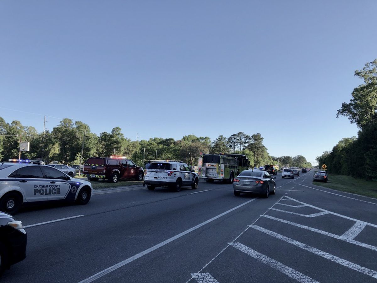 Ogeechee Rd. opens after wreck with injuries