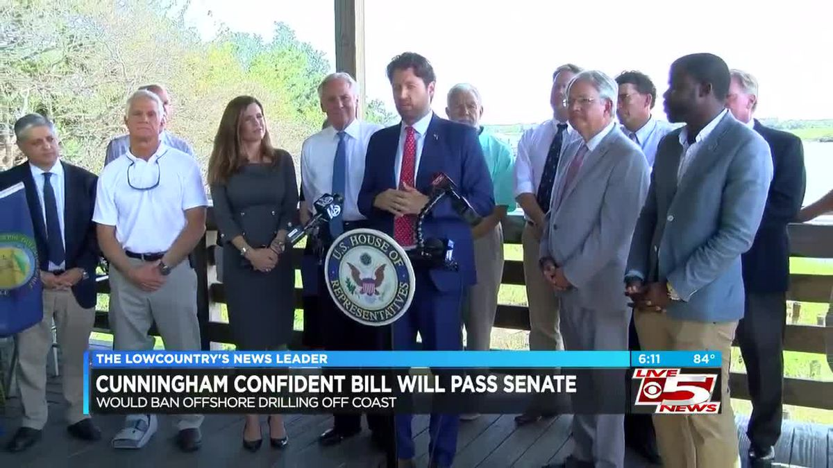 McMaster, Cunningham celebrate bill passage Friday with press conference