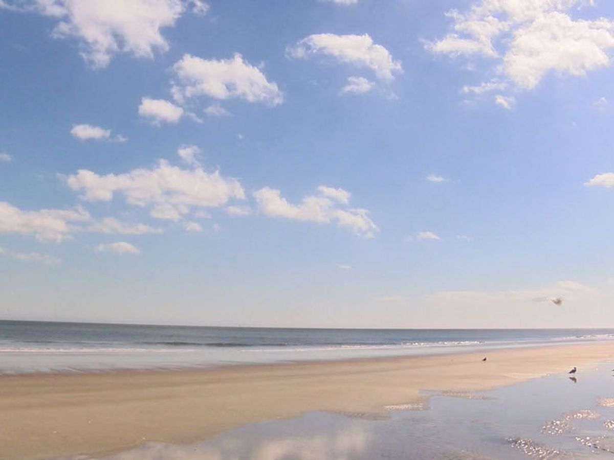 Chatham County Health Dept. issues beach water advisory for Polk Street Beach on Tybee Island