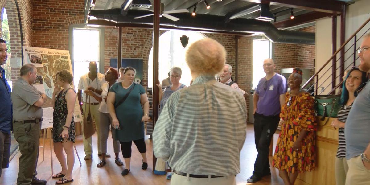 Beaufort County teachers tour local, historic sites