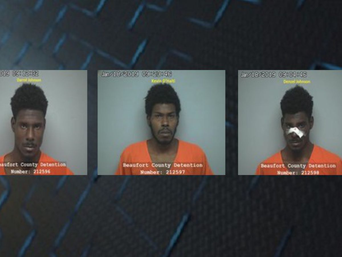 3 arrested in connection to armed robbery at Parker's gas station on HHI