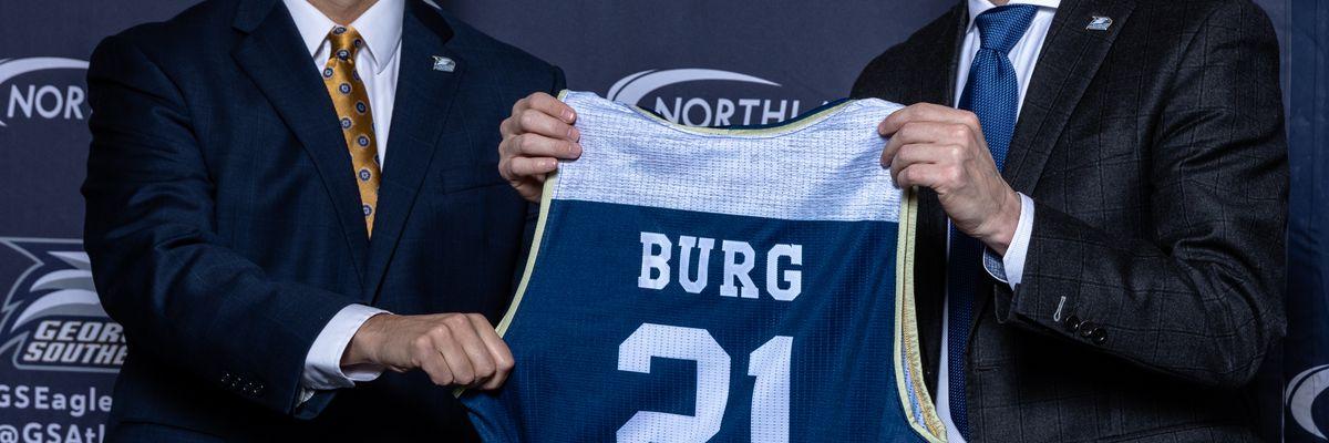 Burg introduced as Eagles' head men's basketball coach