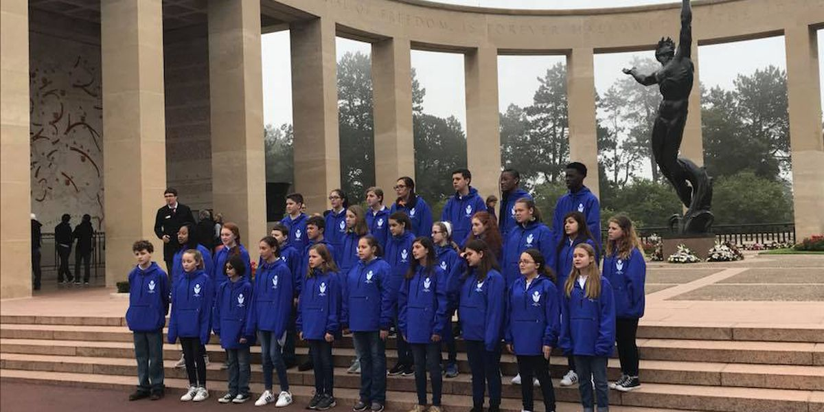Good News: Savannah Children's Choir travels to Normandy, France to perform at American War Memorial