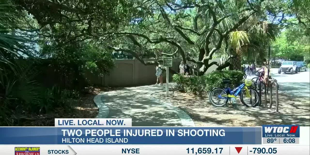 Two people injured in shooting in parking lot near Coligny Beach