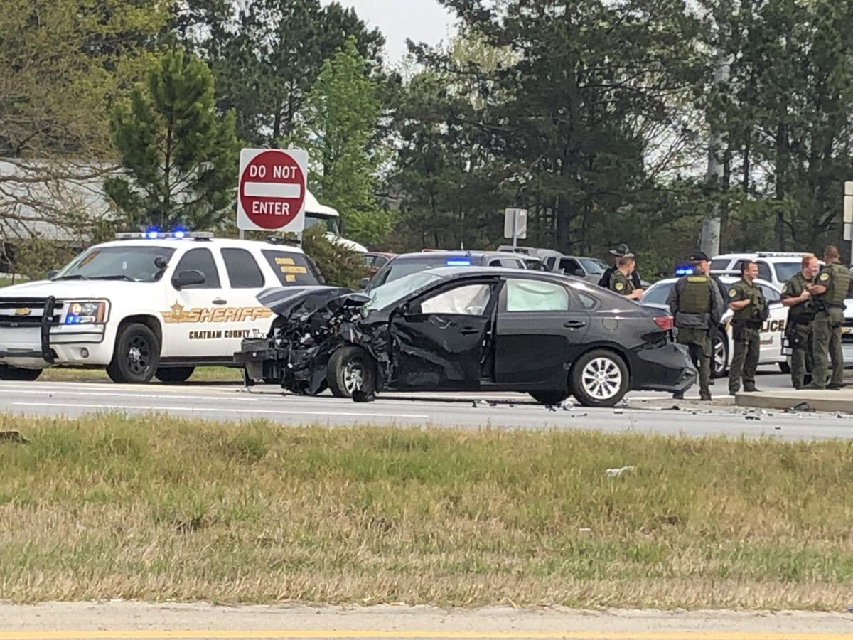 Police say wreck on Hwy 21, I-95 S was caused by bank robbery suspect